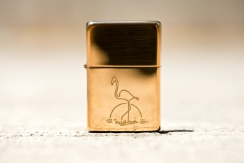 Frank Cover Zippo by Conor McNally