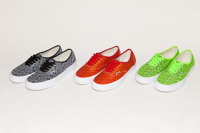 Fucking Awesome x Vans 2013 Authentic Collection