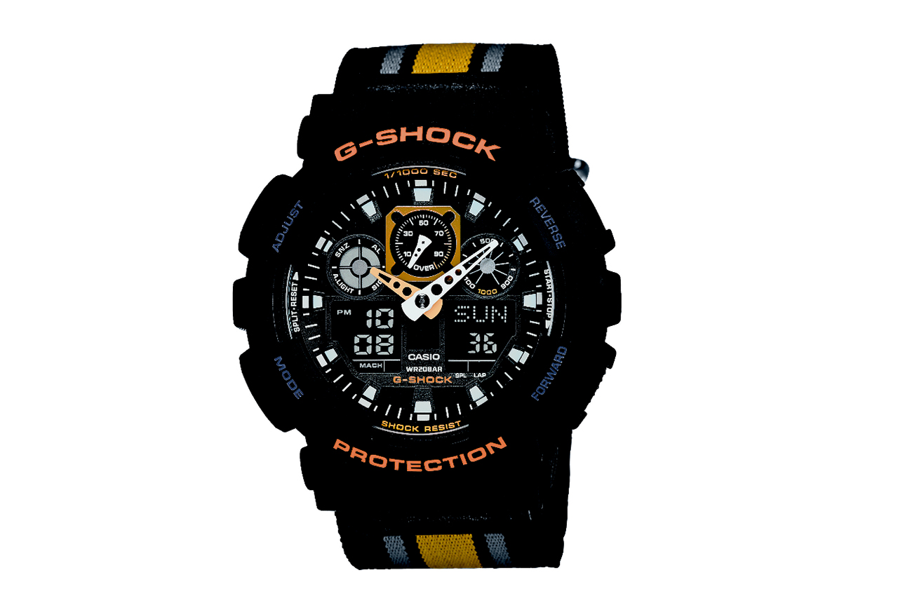 Casio G-Shock GA100MC Military Cloth Collection