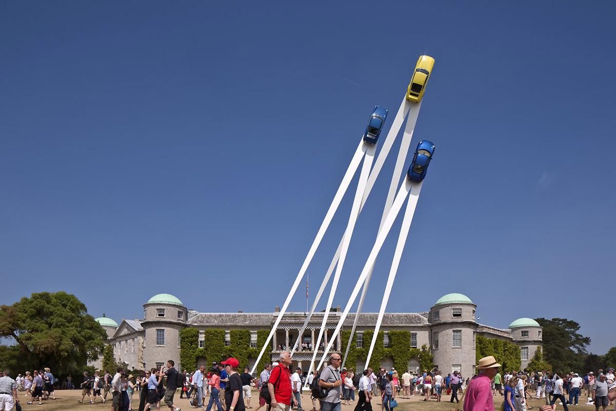 Gerry Judah for Porsche 911 50th Anniversary Sculpture