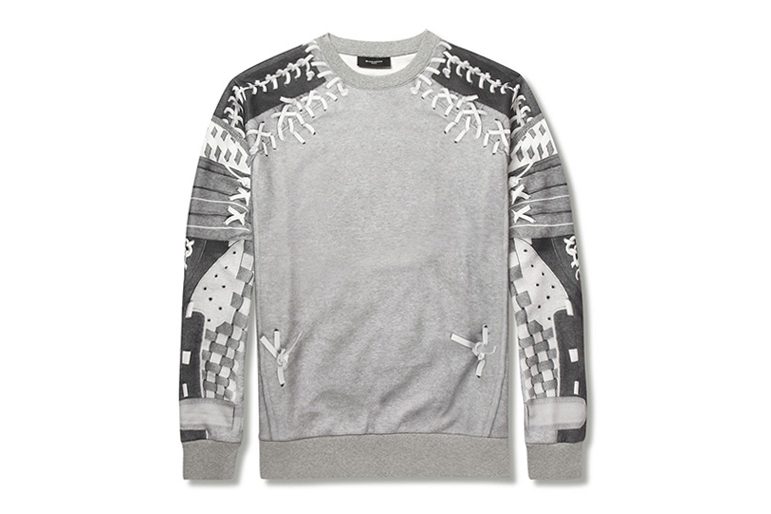Givenchy 2013 Fall/Winter Baseball Print Jersey Sweatshirt