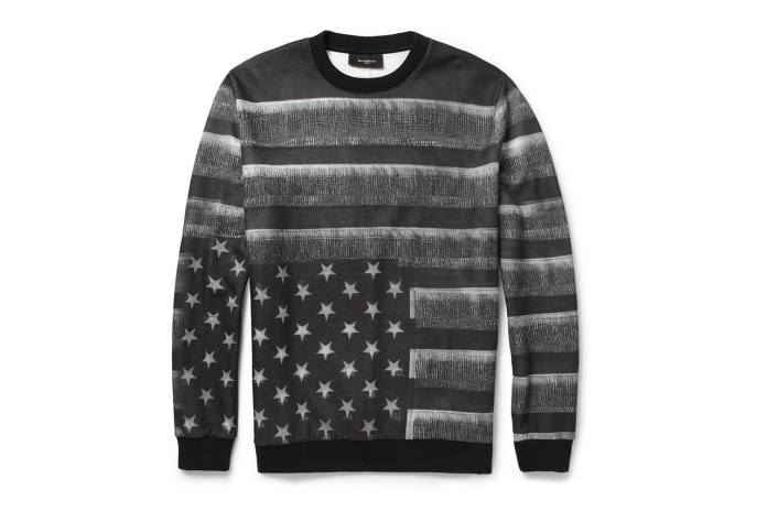 Givenchy Flag-Print Fleece-Back Jersey Sweatshirt