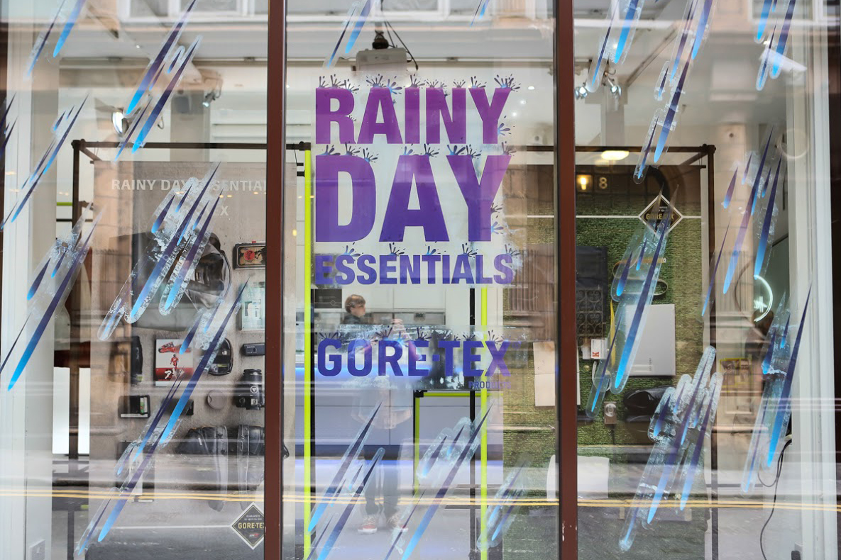 "GORE-TEX ""Rainy Day Essentials"" London Recap"