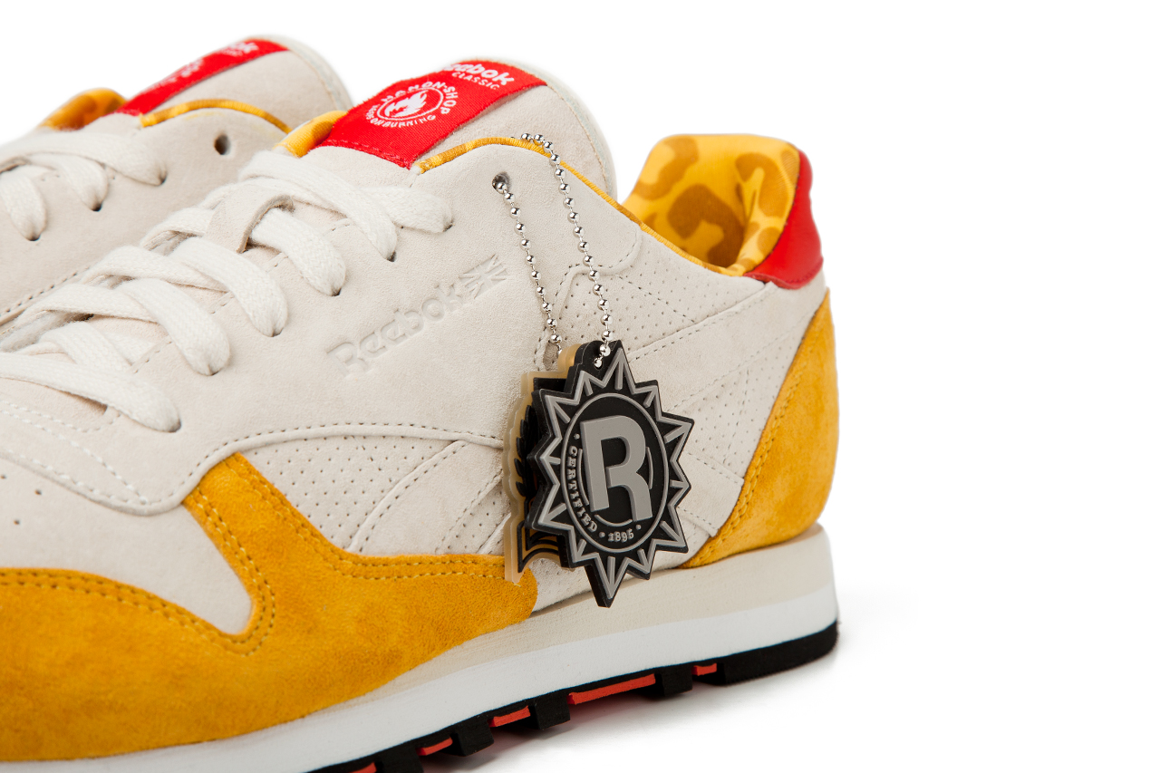 hanon shop x reebok classic leather 30th anniversary