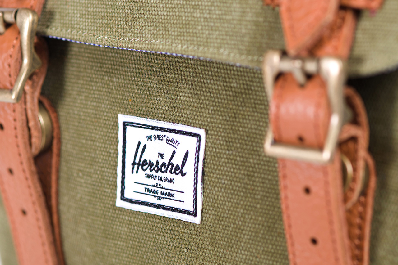 herschel supply co 2013 classics cotton canvas collection