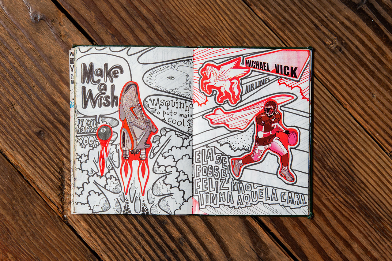 hypebeast road trips portland pen paper with nikes jose cabaco