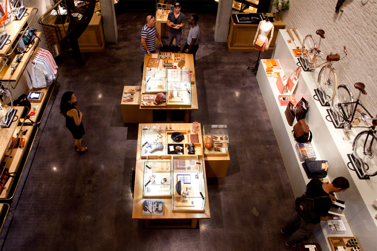 Inside Shinola's New York City Flagship Store
