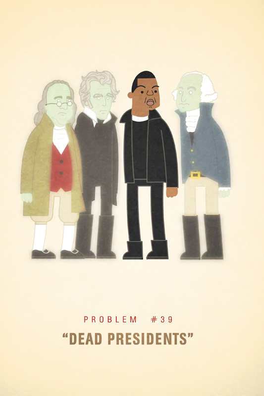 Jay-Z's 99 Problems Illustrations by Ali Graham