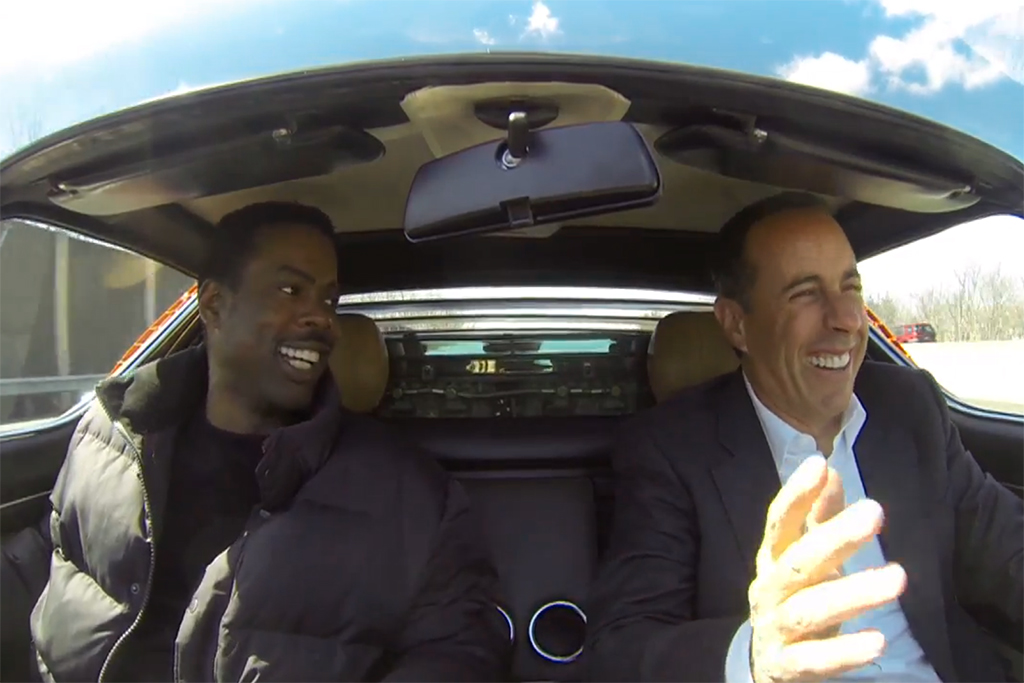 jerry seinfelds comedians in cars getting coffee chris rock