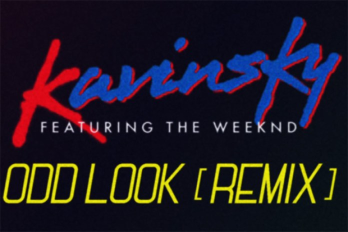 Kavinsky featuring The Weeknd - Odd Look (Remix)