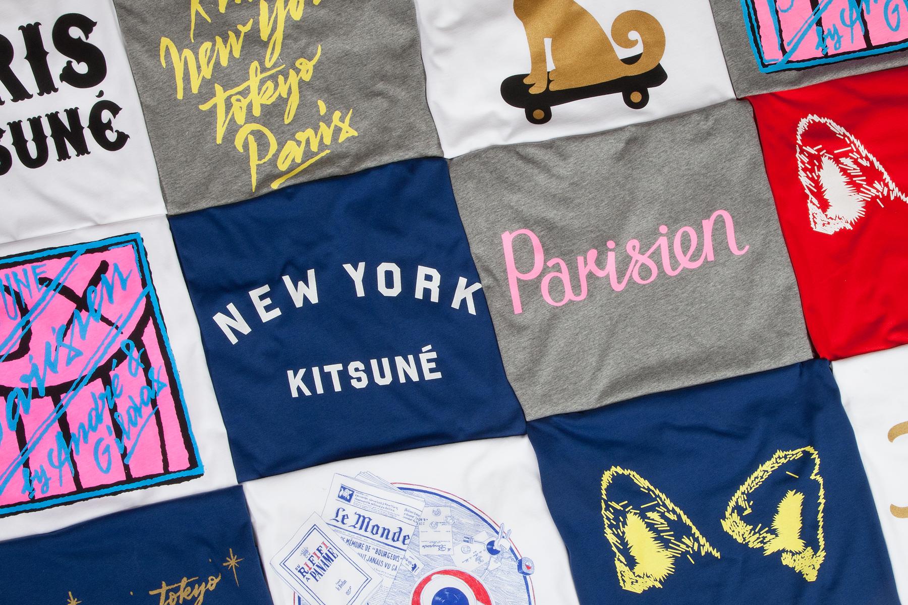 Kitsuné Tee 2013 Pre-Fall T-Shirts