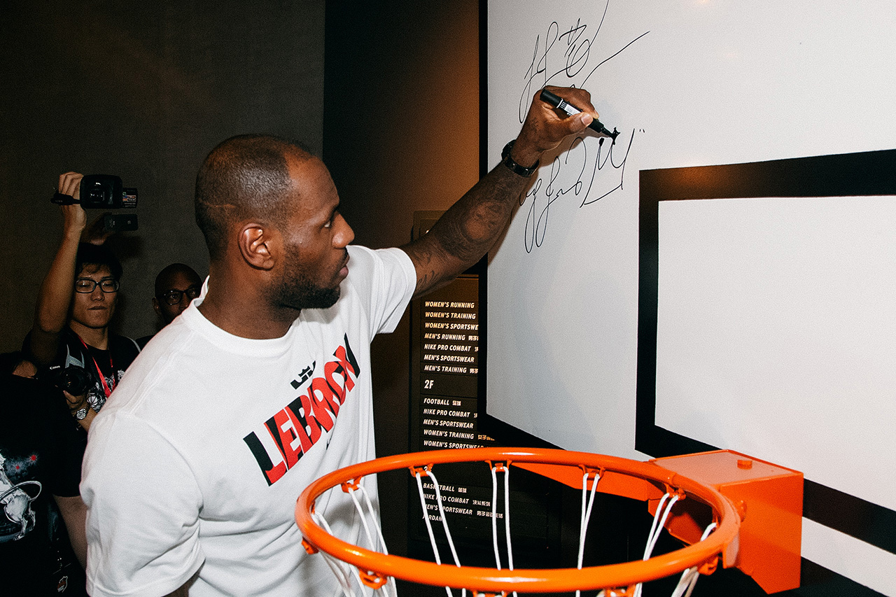 LeBron James China Tour: Guangzhou Event Recap