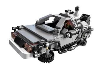 LEGO Unveils 'Back to the Future' Time Machine Set