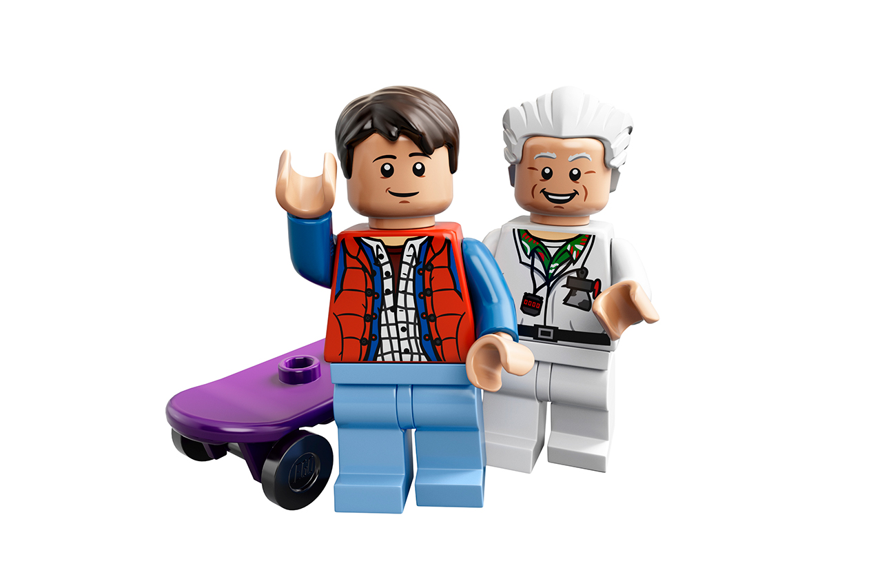 lego unveils back to the future time machine set
