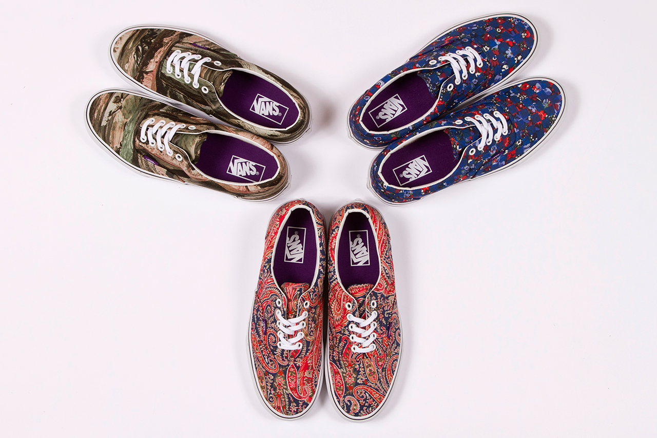 liberty x vans 2013 summer collection