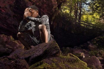 "LRG 2013 Fall ""Upper Echelon"" Lookbook featuring Travi$ Scott"
