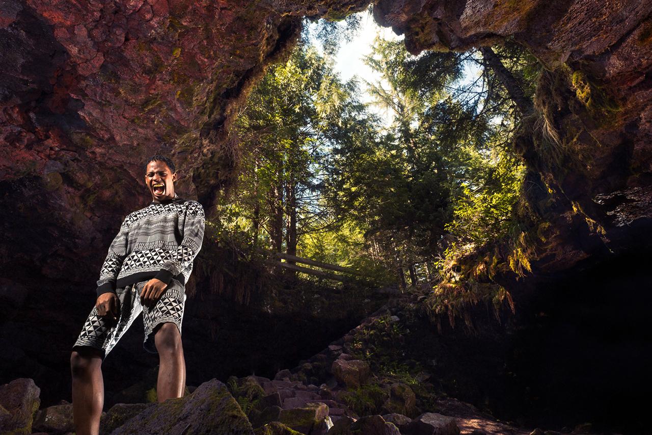 lrg 2013 fall upper echelon lookbook featuring travi scott