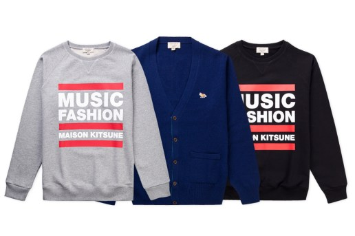 Maison Kitsuné 2013 Fall/Winter New Arrivals