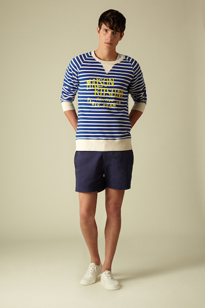 maison kitsune 2014 spring summer collection