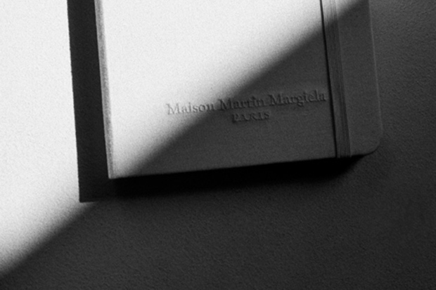 Maison Martin Margiela Limited Edition All-White Moleskine Notebook