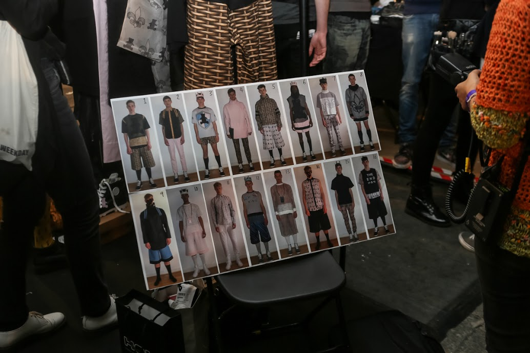 MAN 2014 Spring/Summer Backstage Visuals