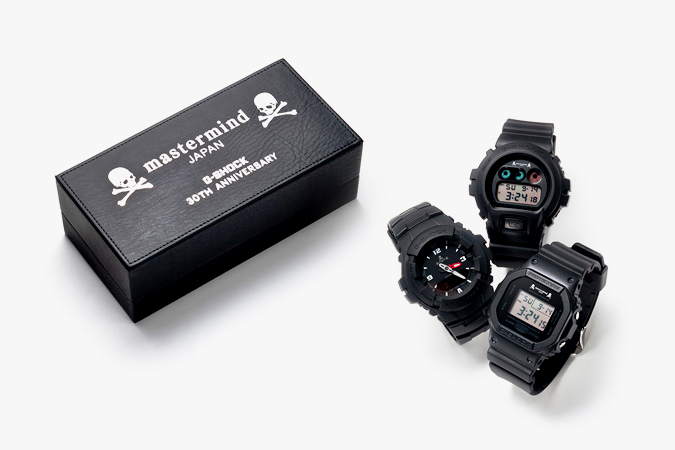 mastermind japan x casio g shock 30th anniversary edition