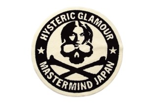 mastermind JAPAN x Hysteric Glamour Circle Rug