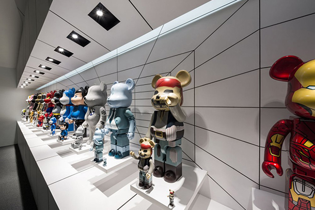 An Impressive Collection of Bearbricks at The Garage of the Bears