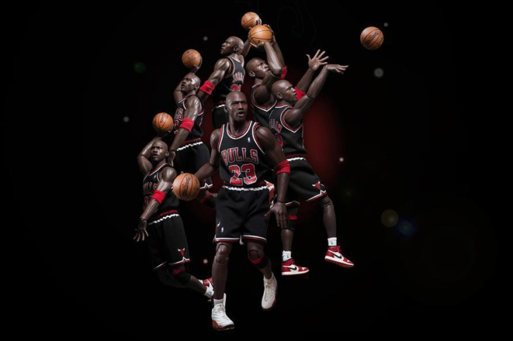 """Michael Jordan 1/6 Scale """"EB 8th Anniversary Edition"""" Figurine Series 2 by ENTERBAY Preview"""