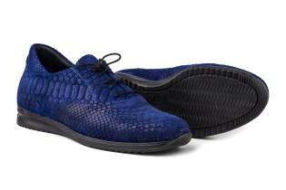 Modern Vice Cobalt Blue Python Lennox