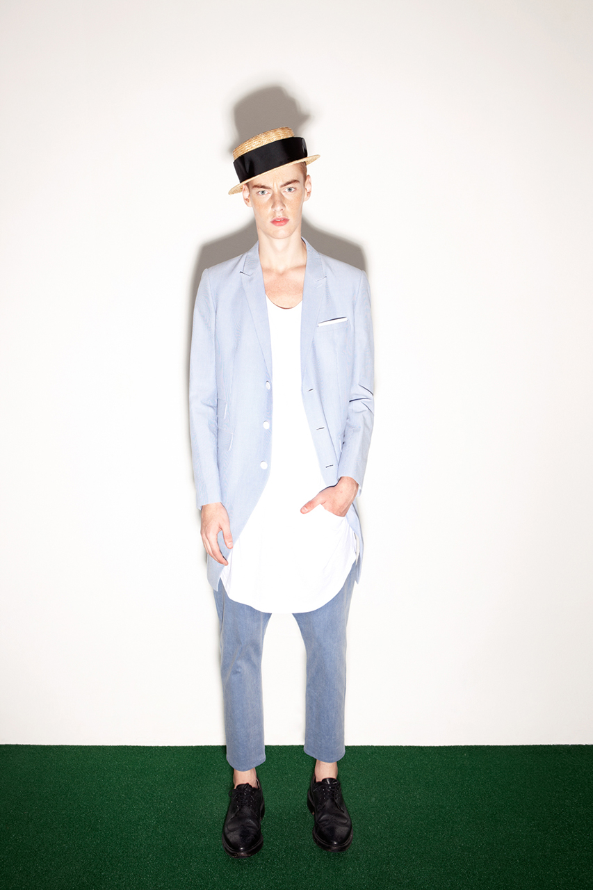 Munsoo Kwon 2014 Spring/Summer Lookbook