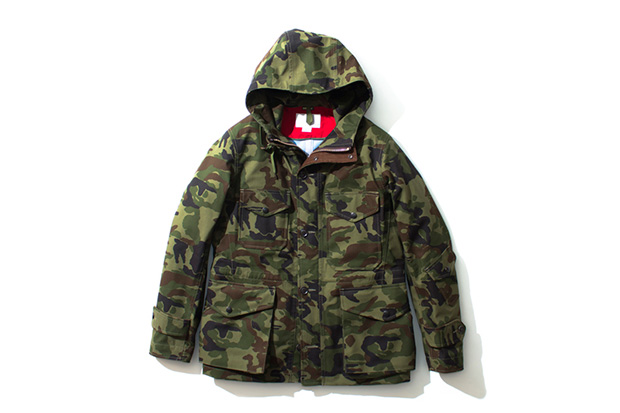 nanamica 2013 Fall/Winter GORE-TEX Camouflage Collection