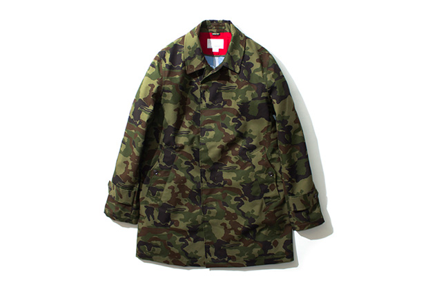 nanamica 2013 fall winter gore tex camouflage collection