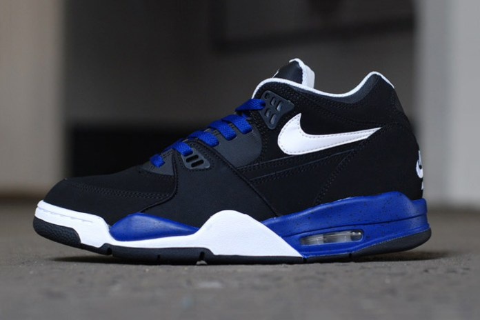 Nike Air Flight 89 White/Black-Deep Royal