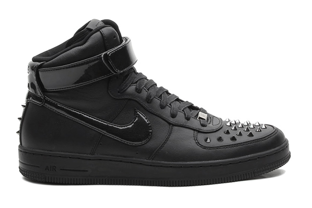 nike air force 1 downtown hi spike black