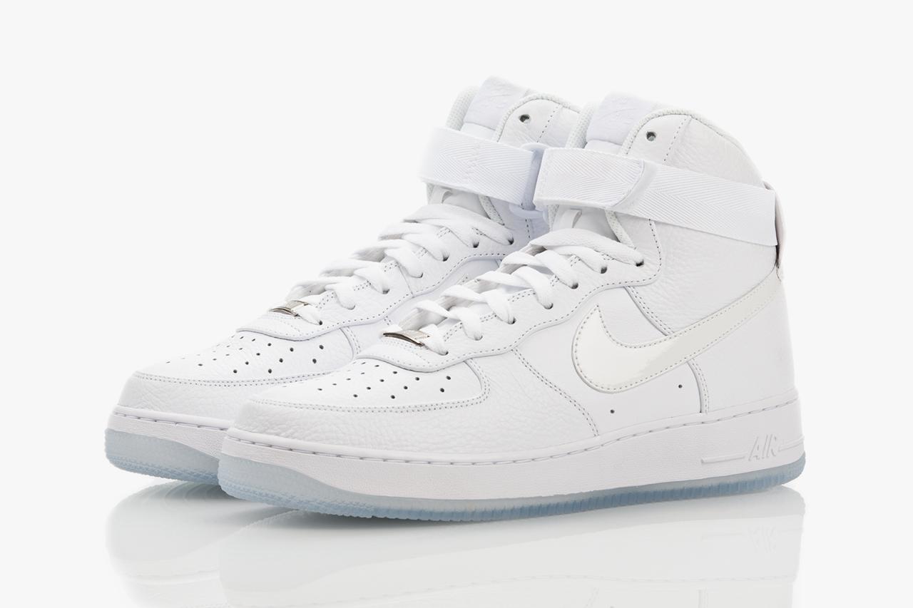 Nike Air Force 1 Hi CMFT White-on-White