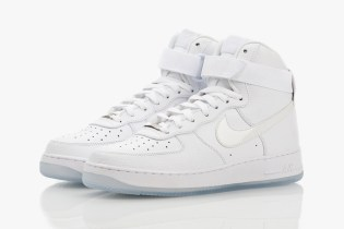Nike Air Force 1 Hi CMFT White-on-White