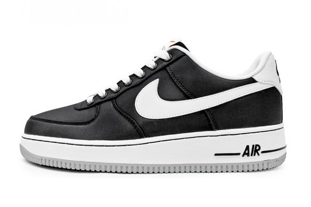 nike air force 1 white and black
