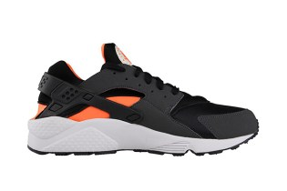Nike Air Huarache Total Orange/Black