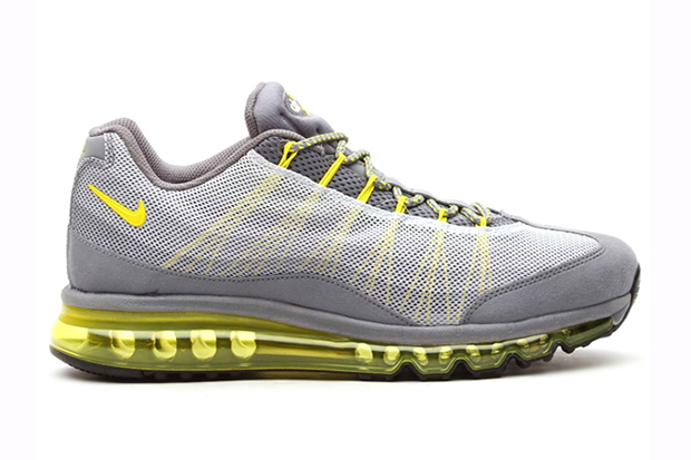 Nike Air Max 95 2013 DYN FW Cool Grey / Grey Sonic Yellow-Silver-Wolf