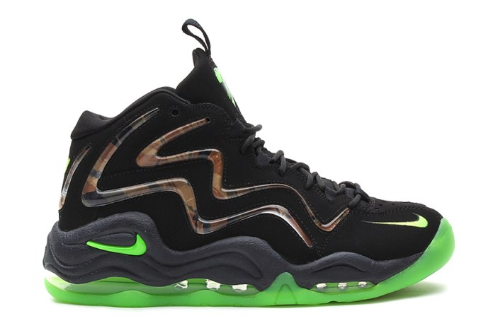 Nike Air Pippen 1 Retro Black/Flash Lime-Anthracite