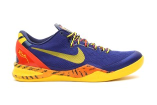 Nike Kobe 8 System Deep Royal Blue/Tour Yellow
