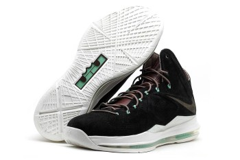 "Nike Lebron X EXT ""Black Suede"" QS"
