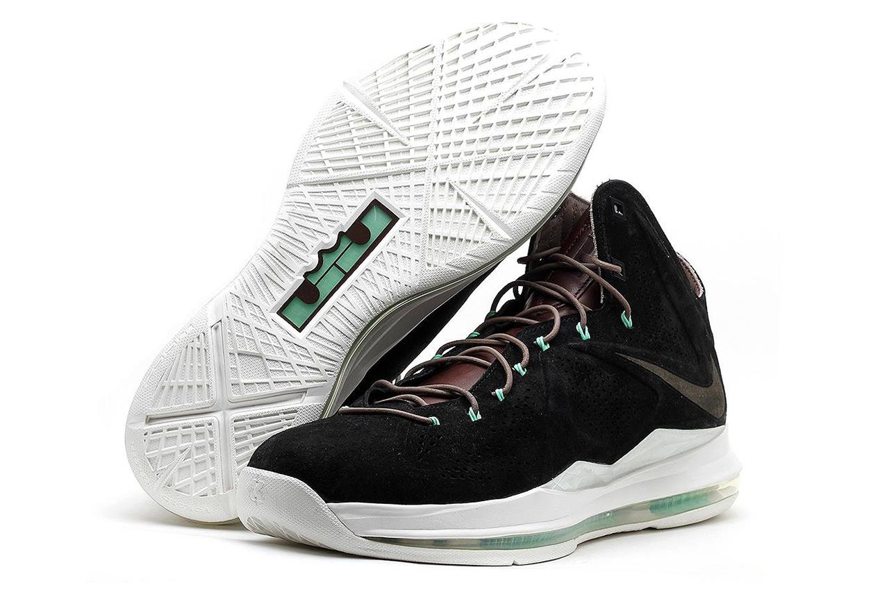 "Nike Lebron X EXT ""Black Suede"" QS"