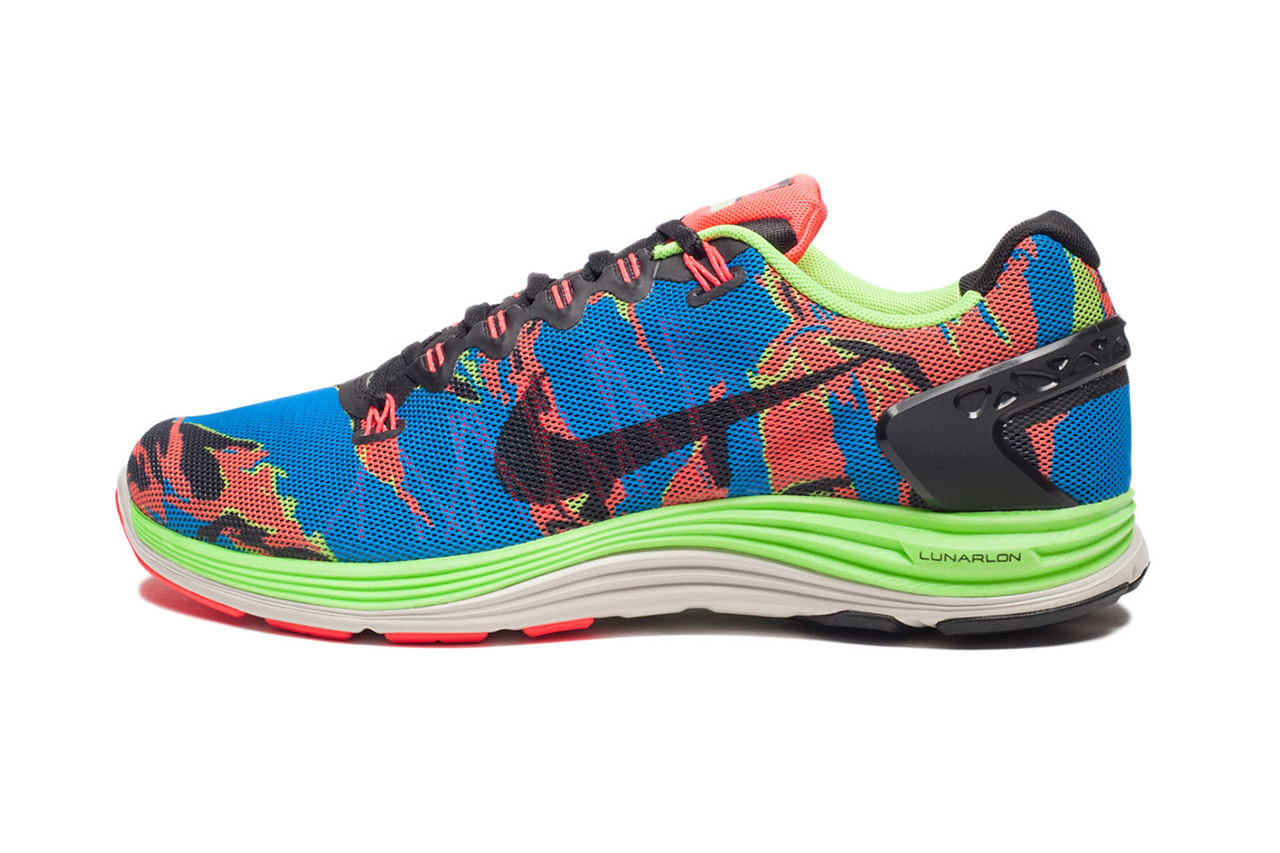 Nike LunarGlide+ 5 Blue/Orange/Black