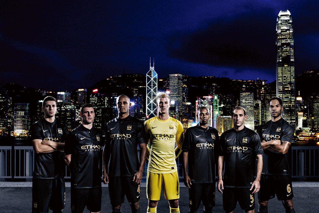 Nike Soccer Unveils 2014 Manchester City Away Kit