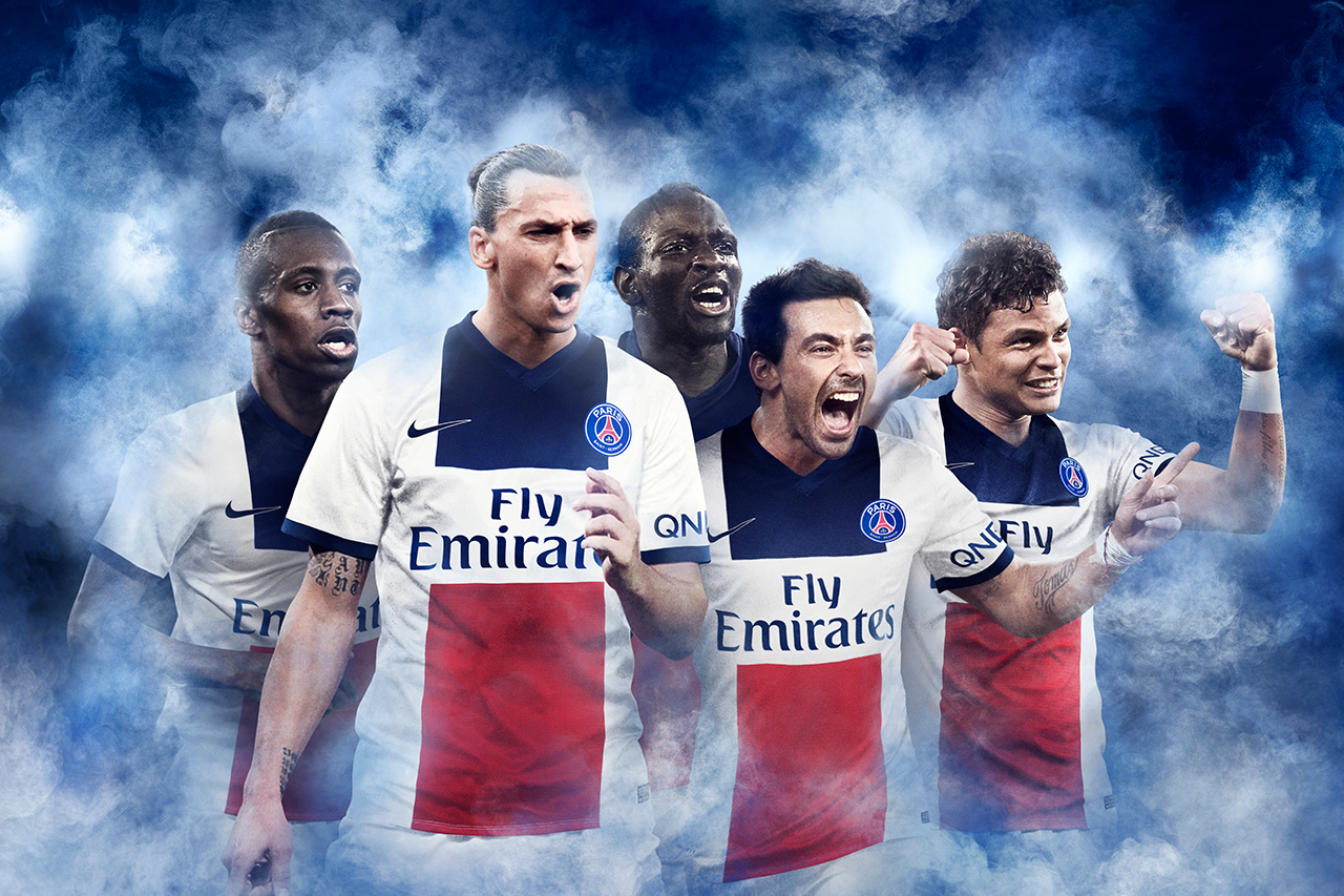 Nike Paris Saint-Germain 2014 Away Kit