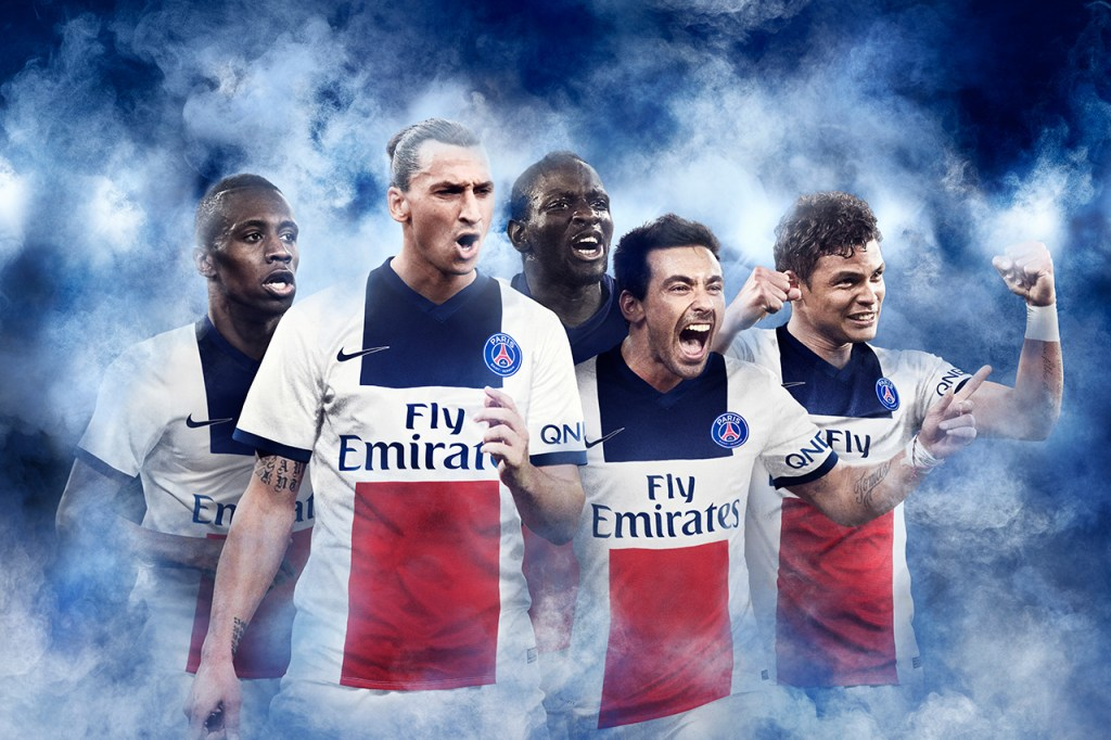 Nike Paris Saint-Germain 2014 Away Kit