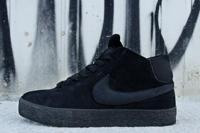 Nike SB Blazer Mid LR Black/Dark Grey