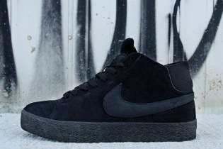 Nike SB Blazer Mid LR Black/Dark Grey
